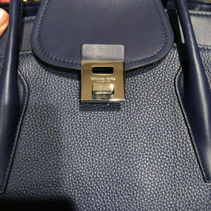 Michael Kors Collection Bags - Michael Kors Brand New Sapphire Blue and Wallet